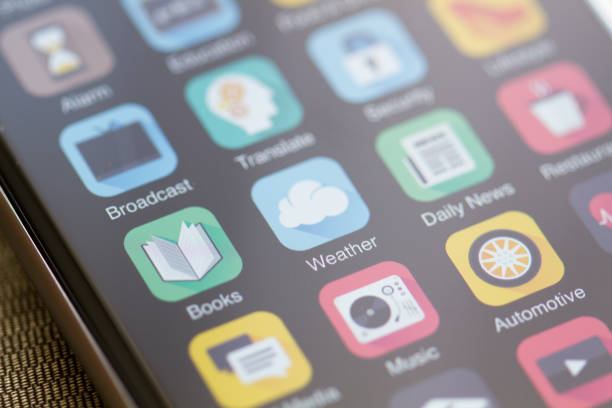 self-help apps on an apple iphone